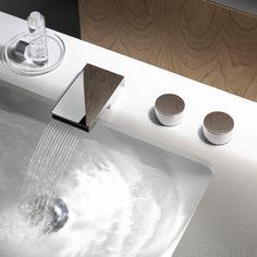 Dornbracht Deque csaptelep - a lágy víz és a hi-tech, ipari design találkozása