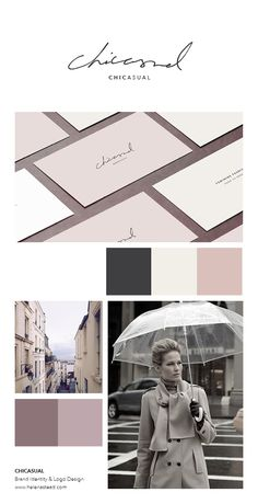 Chicasual is an e-commerce brand for womenswear fashion. The aim was to produce a timeless design that is both chic, minimal and feminine. Inspired by Parisian fashion and a soft, muted dusty pink colour palette. The handwritten font offers a bespoke logo/wordmark. #Typography #Logo #Logodesign #GraphicDesigner For more graphic design projects: www.helenastead.com