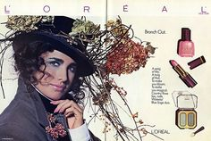 TBT: 1980s LOreal Makeup Ads with Andie Macdowell