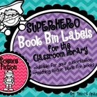 These+labels+would+be+a+colorful+addition+to+your+Superhero+themed+classroom!++They+are+a+bright+mixture+of+green,+pink,+purple,+turquoise,+yellow,...