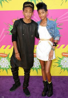 Jaden, 16, and Willow, 14, are home-schooled, which has ensured maximum exposure to their ...