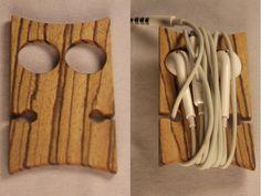 "The ""Owl"" Earbud Organizer / Earphone Holder MXS $16.00"
