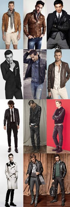 Men's Leather Lookbook