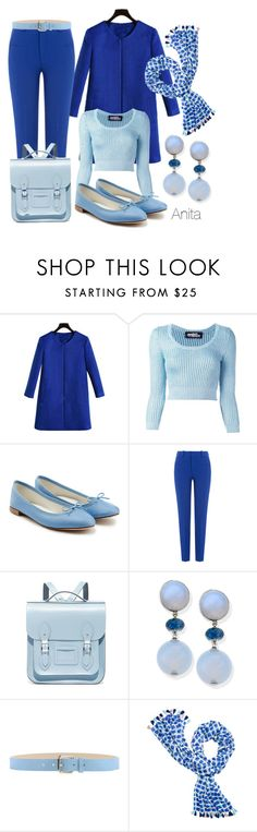 """""""Anita"""" by begopuig ❤ liked on Polyvore featuring Jeremy Scott, Repetto, Roland Mouret, The Cambridge Satchel Company, Stefanel and Kate Spade"""