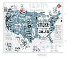 American Smoke by Iain Sinclair by Penguin