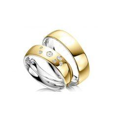 Alianças Folheada a Ouro Wedding Rings, Engagement Rings, Jewelry, Gold Leaf, Estate Engagement Ring, Jewels, Enagement Rings, Jewlery, Jewerly