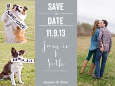 Save the date with the dogs!
