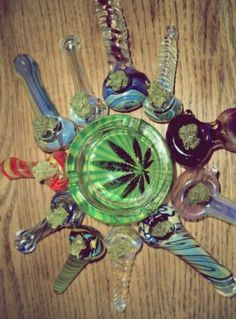 With Tap Dat Ash, you can safely tap all these bowls out when they cache. Check it out: www.tapdatashtray.com