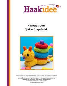 Haakpatroon Sjakie Stapelslak productfoto website