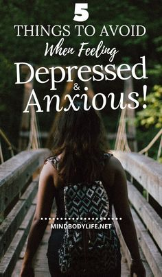 Many of us don't realize many outside factors can contribute to making our Depression and Anxiety Worst. Here are 5 Things to Avoid When Depressed & Anxious What Is Anxiety, How To Calm Anxiety, Deal With Anxiety, Anxiety Tips, Anxiety Help, Mental Health Journal, Mental Health Resources, Anxiety Awareness, Mental Health Awareness