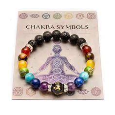 Chakra Armband, Bracelet Chakra, Chakra Beads, Chakra Jewelry, Chakra Crystals, Yoga Bracelet, Healing Crystal Jewelry, Crystal Healing Stones, Healing Bracelets