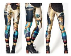 Every beautiful woman deserves beautiful leggings. Be queen and rule the day. Couple these beauties with an oversized sweater and booties or anivory tunic and