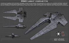 Imperial Customs Light Corvette ortho [New] by unusualsuspex on DeviantArt