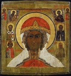 Великомученица Параскева, с избранными святыми Russian Ark, Black Hebrew Israelites, Russian Icons, Black History Facts, Saint Nicholas, Serbian, 17th Century, Jesus Christ, Saints