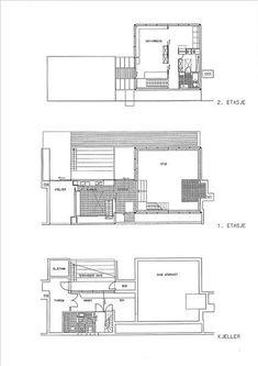 FINN Eiendom - Bolig til salgs / Planetveien architect Arne Korsmo International Style, Home Studio, Detached House, Floor Plans, Real Estate, How To Plan, Architecture, Building, Interior