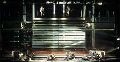 Coriolanus. The Shak - Coriolanus. The Shakespeare Theatre. Scenic design by Walt Spangler. Lighting by Robert Perry. --- #Theaterkompass #Theater #Theatre #Schauspiel #Tanztheater #Ballett #Oper #Musiktheater #Bühnenbau #Bühnenbild #Scénographie #Bühne #Stage #Set
