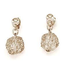 Crystal Stud drop with crochet gold from SEOIDIN Pearl Earrings, Drop Earrings, Handmade Design, Crystal Drop, Bridal, Crystals, My Style, Crochet, Gold