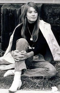 style icons: francoise hardy | Sheri Silver - living a well-tended life... at any age
