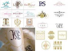 Monograma - A marca dos Noivinhos - Barato de Casamento