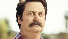 Nick Offerman's 6 Easy Steps to Growing the Ron Swanson Mustache | Birchbox