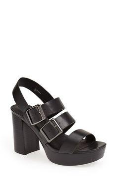 Topshop 'Lawless' Platform Sandal (Women) available at #Nordstrom