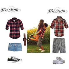 Cute outfits for me and him!