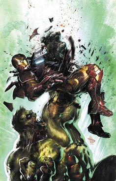 Hulk vs iroman                                                       …