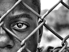 Striking. The inner city struggle of the African American, male. God Bless him, HOPE.