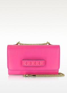 Valentino Garavani Pop Rockstud Leather Shoulder Bag