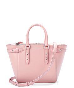 Marylebone powder pink leather mini bag Sale - Aspinal of London New  Handbags e3d0ef4aaed