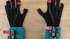 SignAloud gloves translate sign language into text and speech.
