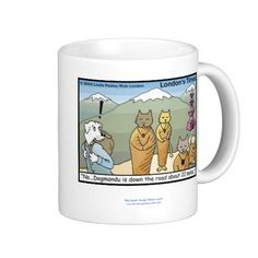 #Katmandu #Funny #Mug 50%off by @LTCartoons #zazzle #humor #coffee #gift #sale Code MADNESS4MUGS Ends 12amPT #cats #dogs