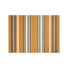 United Weavers Panama Jack Windward Striped Rug, Orange, Durable