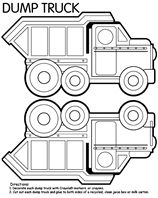 Crayola: Printables. This is the vehicles page for boats, trucks and cars.