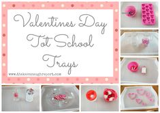 The Kavanaugh Report: Valentine's Day Tot School Trays