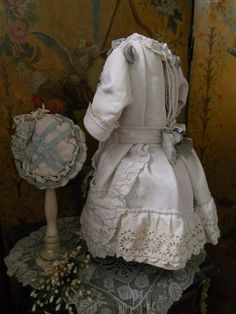 ~~~ Marvelous French Princess Style Bebe Pique Costume with Bonnet ~~~ from whendreamscometrue on Ruby Lane
