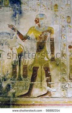 painted hierogliphics