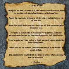 Cosmic Breath (Poetry by Mynzah)  www.instagram.com/mynzah/