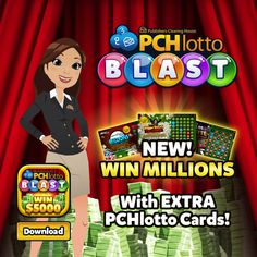 Take the lotto fun with you anywhere! Play the PCHlotto Blast app now for a chance to win up to $5,000 instantly!