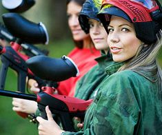 Paintball... Yes please! Here's a great list of fun and 'fitness friendly' date ideas!