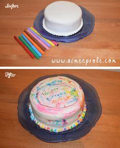Color A Cake