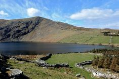 Coomasaharn is a beautiful hidden lake near the village of Glenbeigh in on The Ring of Kerry, County Kerry. Ireland