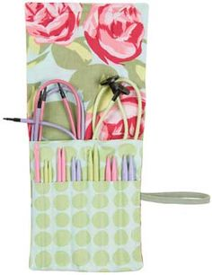 Denise2Go Interchangeable Set - the most popular sizes of needles plus a crochet hook in a designer case.