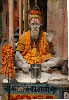 The Colors of India - Sadhu in Varanasi