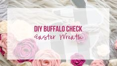Easy No Sew Easter Bunny Gnomes - Happily Ever After, Etc. Easy Easter Crafts, Easter Projects, Valentine Day Crafts, Fall Crafts, Christmas Crafts, Felt Flower Tutorial, Wreath Tutorial, Spiral Christmas Tree, Animal Knitting Patterns