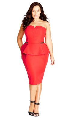 28d64458148 20 New Year s Eve Plus Size Dress Ideas on The Curvy Fashionista  TCFStyle Plus  Size