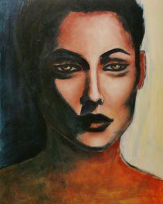 Beautiful paintings from French painter, artist Emilie Menard at http://www.emiliemenard.com
