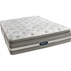Simmons Beautyrest BeautyRest Recharge World Class Coral Reef Plush Pillow Top Mattress