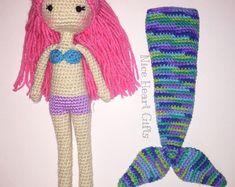 Mermaid Doll With De