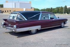1960 Superior Cadillac Crown Royale Three-Way Landaulet Funeral Car